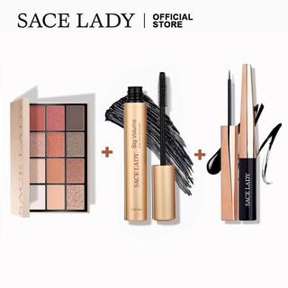Bộ Trang Điểm Mắt SACE LADY Gồm Phấn Mắt 12 Màu 1.5g + Kẻ Mắt Dạng Lỏng Kháng Nước 0.8g + Mascara 8g thumbnail