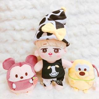 Plushdoll Milkteeth Jimin ver.1 20cm Official Fansite (hàng có sẵn) – Doll BTS
