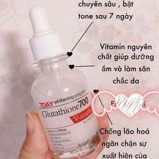 Huyết thanh dưỡng trắng da 7 ngày 7Day Whitening Program Glutathione 700 V-Ample 30ml [Hàng xách tay] thumbnail