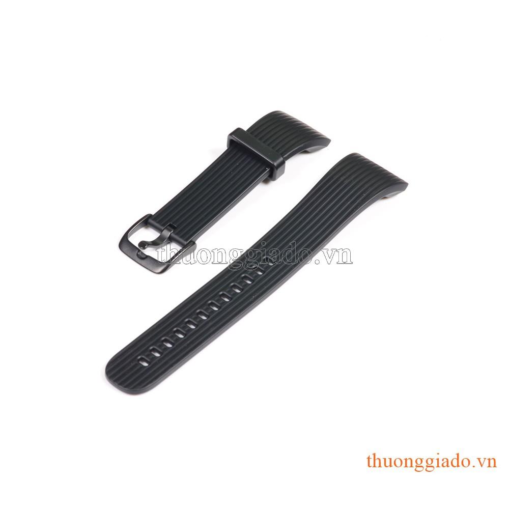 Dây đồng hồ Samsung Gear Fit2 Pro/ Gear Fit 2/ R360 màu đen (size L), hàng chính hãng