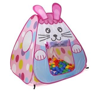 Thanh lý lều bóng thỏ hồng cho bé