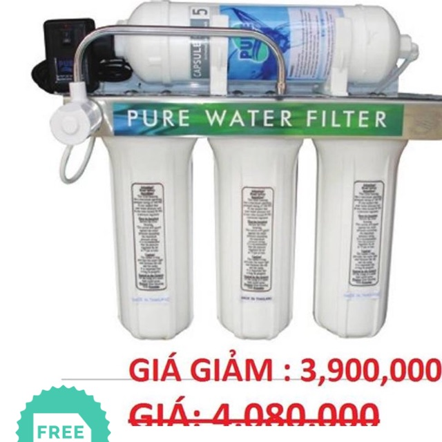 [ELHAR1TR giảm tối đa 1TR] Máy lọc nước tinh khiết pure 582 Thái Lan
