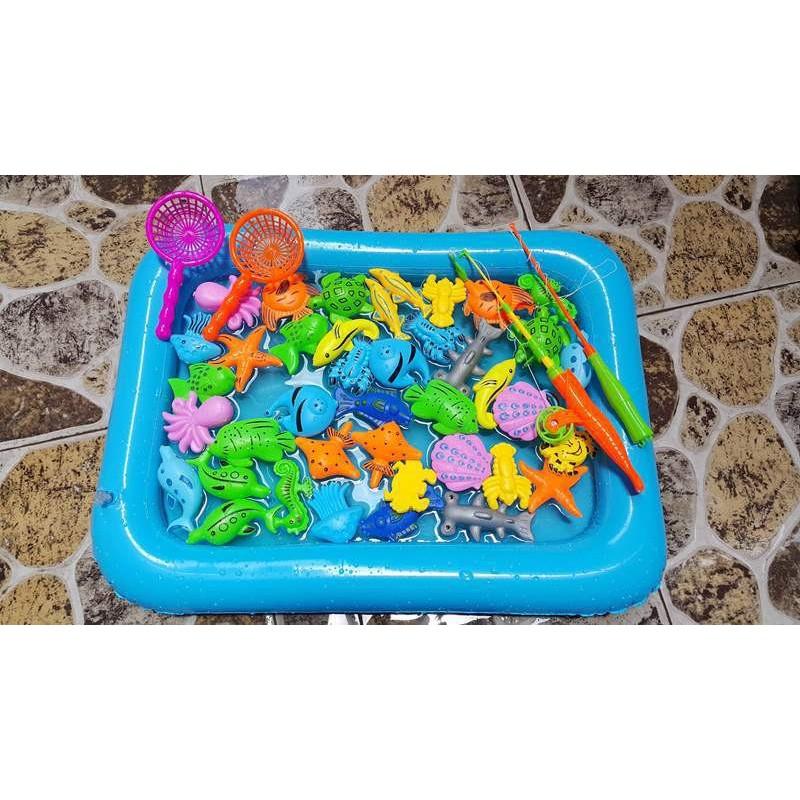 Bể phao câu cá đồ chơi cho bé