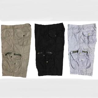 Quần short kaki nam túi hộp cao cấp