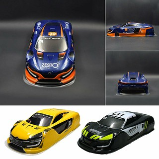Painted PVC Body Shell Case for 1/10 Tamiya TT01 TT02 HPI RS4 Sprint2 E10 RC Car