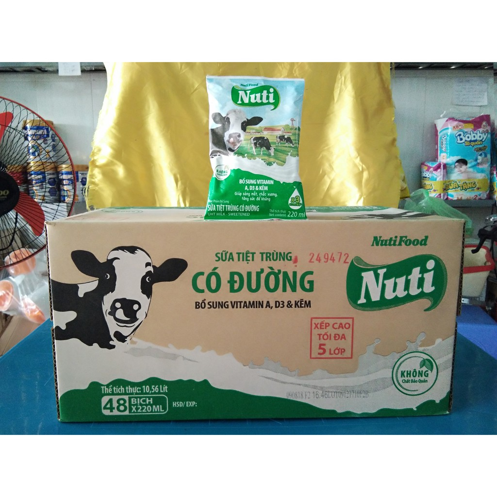 Sữa Nuti Bịch