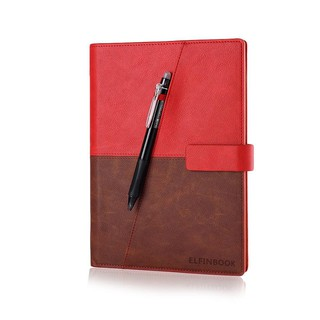 A Set (2 Pieces) Of Re-writable Smart Notebook Leather Electronic Notebook