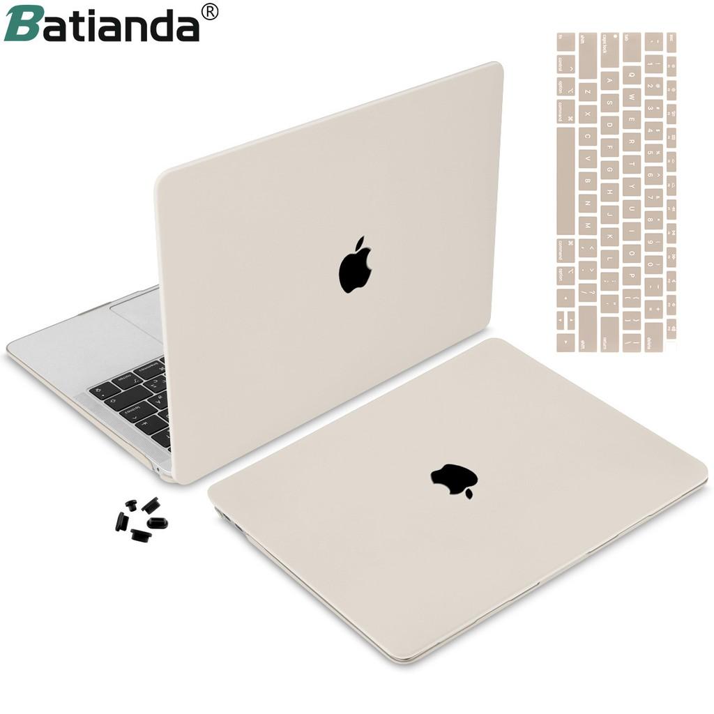 Ốp Nhựa Cứng Batianda Bảo Vệ Cho Macbook Air Pro A2179 a1932 A1466 A2159 A1706 A2141 13.3 15.4 16 inch 2018 2019 2020