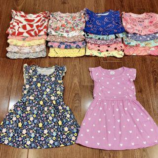 HOT- Combo 3 váy cotton bé gái cực xinh (mẫu mới)