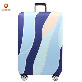 Vỏ bọc vali du lịch chất liệu dày dặn co giãn chống trầy xước bụi bẩn tiện dụng thumbnail
