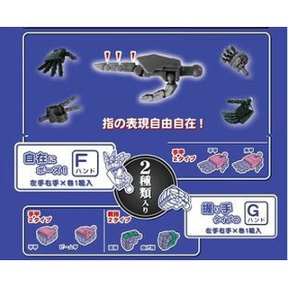Mô hình lắp ráp – 1/100 Bàn tay động có khớp cho mô hình MG