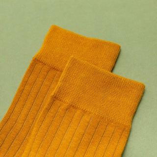 Hình ảnh Vớ tất cổ cao gân trơn nam nữ GENZ nhiều màu phong cách vintage - ZA014-3
