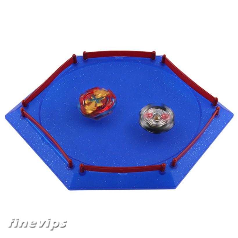 Blue Plastic Hexagonal Metal Fusion Stadium