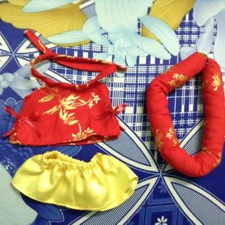 Outfit doll – Áo dài yếm