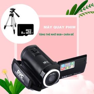 Combo Máy Quay Phim ELITEK HD Digital Video 16X + Chân đế + Thẻ Nhớ 8GB