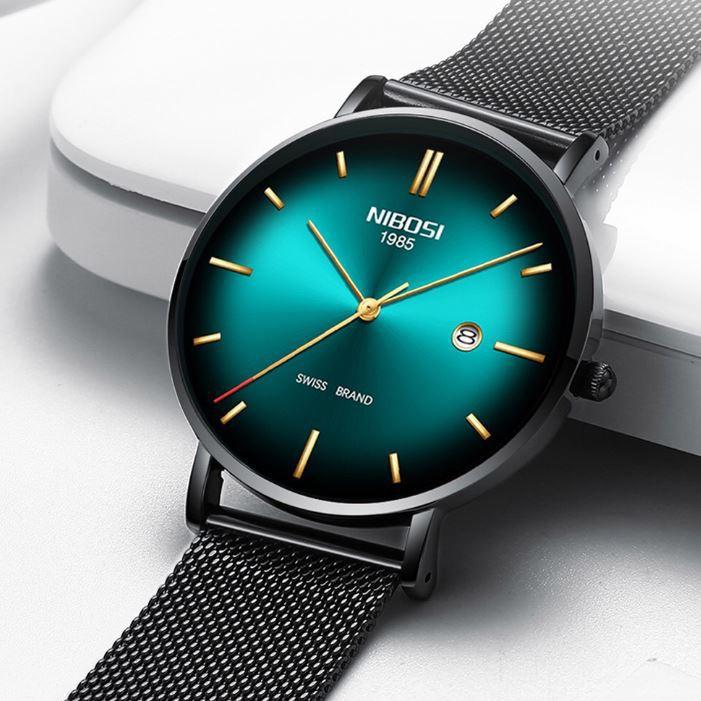 [Tặng vòng tay] Đồng hồ nam NIBOSI chính hãng NI2362.08 fullbox trẻ trung hiện đại