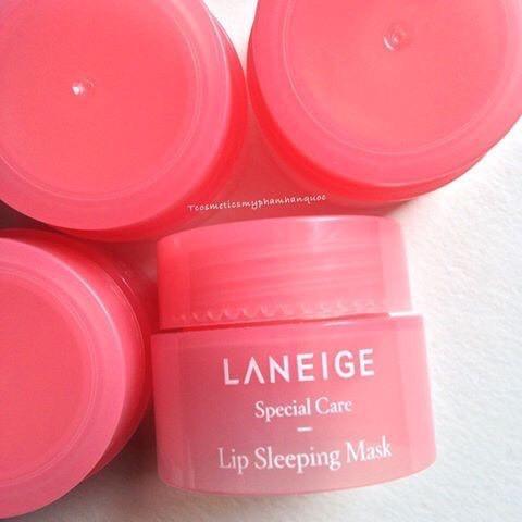 ( Chính hãng) Mặt nạ ngủ môi Laneige Lip Sleeping Mask