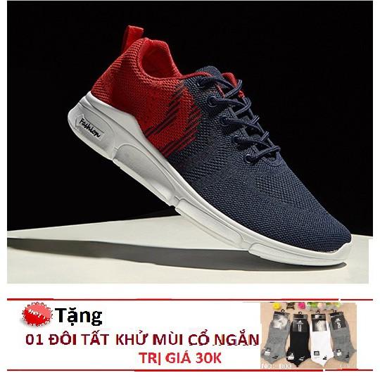 Giày Sneaker Thể Thao Nam HiNiTi T022 Dáng Đẹp- Năng Động Tặng Tất