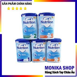 Sữa nutrilon hàng xách tay Séc (số 1,2,3,4,5) 800gr