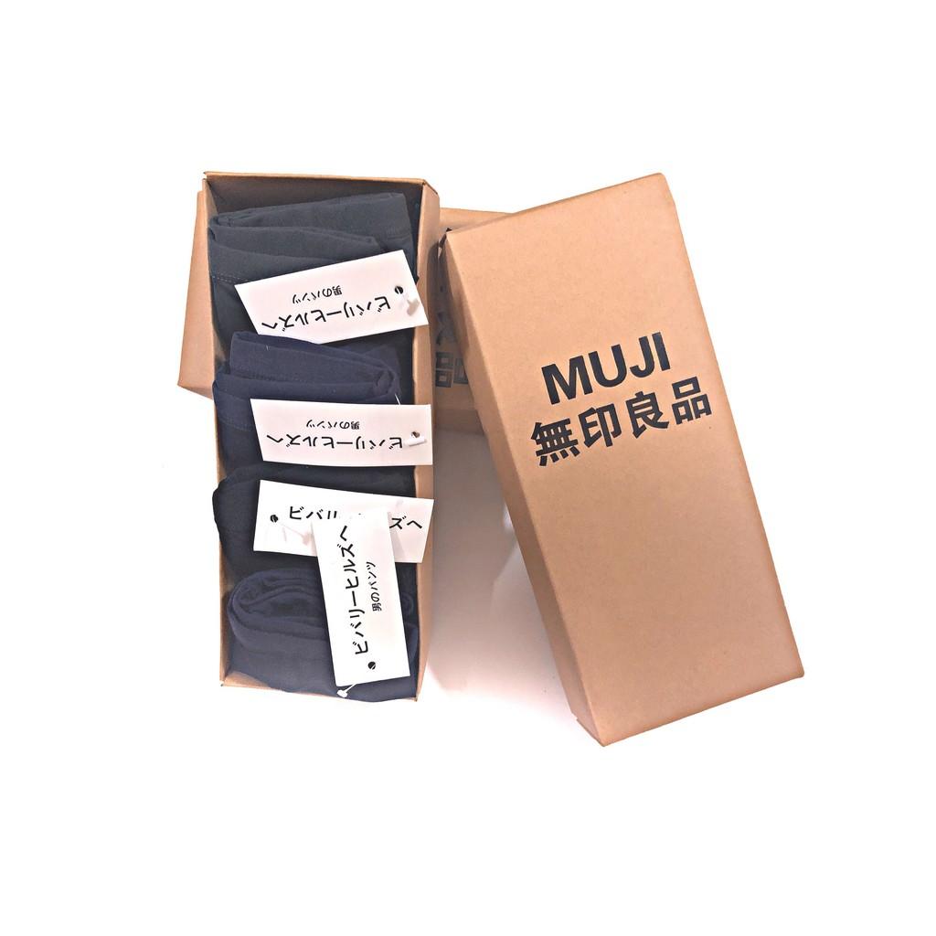 Hộp 4 sịp Muji nam xuất Nhật ( chất liệu cao