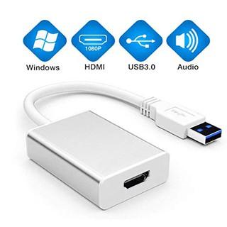 [Mã ELORDER5 giảm 10K đơn 20K] Cáp chuyển đổi USB 3.0 sang HDMI - USB 3.0 HDMI