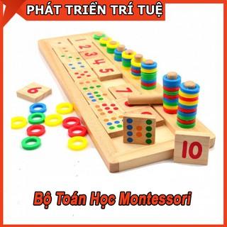 Bảng Số Montessori Đồ Chơi Giáo Dục Phát Triển Trí Tuệ Cho Bé thumbnail