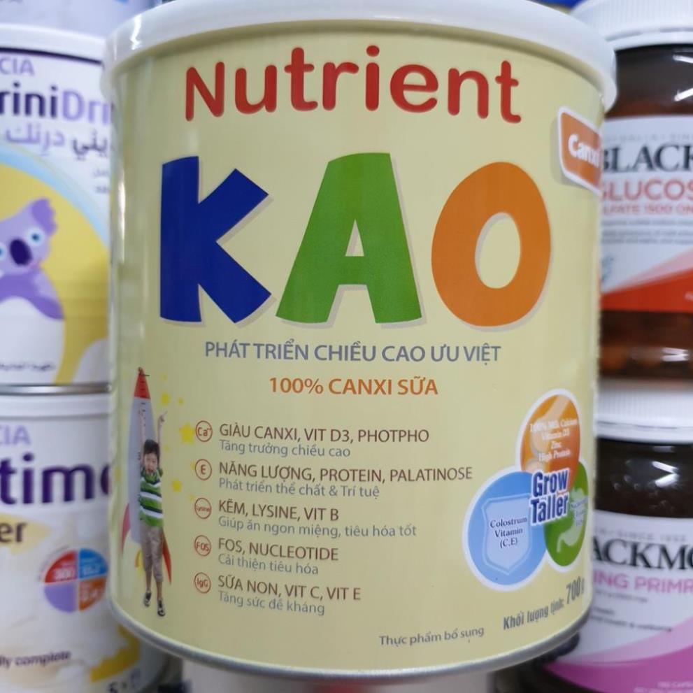 Sữa bột Nutrient KAO 700g Date T4.2023