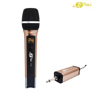 Micro Karaoke Không Dây Cho Loa Kéo JSJ W-16