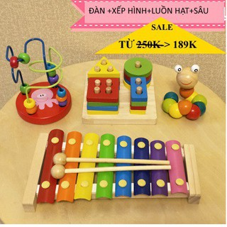 [Giá Hủy Diệt ] [Sale sốc]Bộ đồ chơi giáo dục sớm cho bé từ 0-3 tuổi Hàng Loại 1