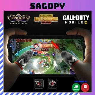 Bao tay chơi game ff MEMO chống mồ hôi tăng độ nhạy, găng tay, ngón tay chơi game free fire, pubg, liên quân Sagopy thumbnail