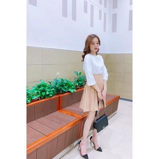 Chân váy xòe xếp ly - 20Again - JXA0198 thumbnail