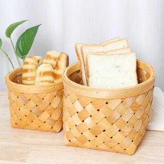 Giỏ Đan Đựng Trái Cây / Bánh Mì Đi Picnic