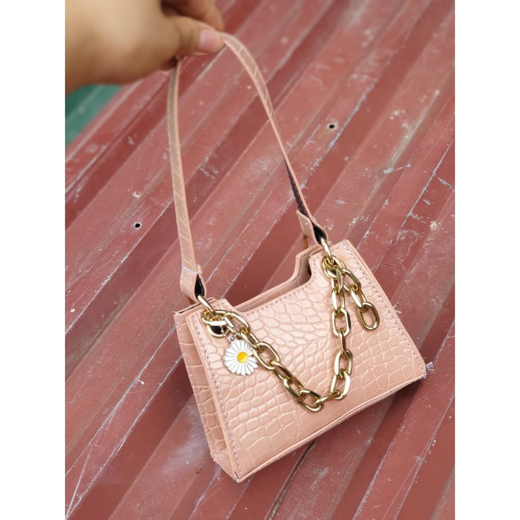 Túi mini hoa cúc túi mini cầm tay hàng đẹp TNKNA05