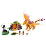 Bộ lắp ráp Hang Núi Bí Mật Của Rồng Lửa LEGO 41175
