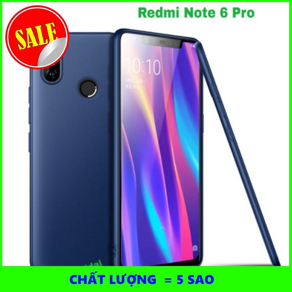 [5SAO]  Xiaomi Redmi Note 6 Pro ốp dẻo mỏng cao cấp
