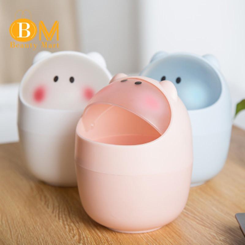 Thùng rác mini dễ thương cho gia đình