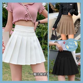 Chân váy xoè xếp ly tennis skirt – ngắn -lưng cao, đẹp nhất 2021- vải đẹp tuyế mưa cao cấp dễ thương
