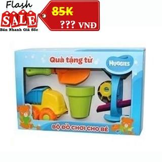 Bộ đồ chơi cát 4 món cho bé Huggies thumbnail