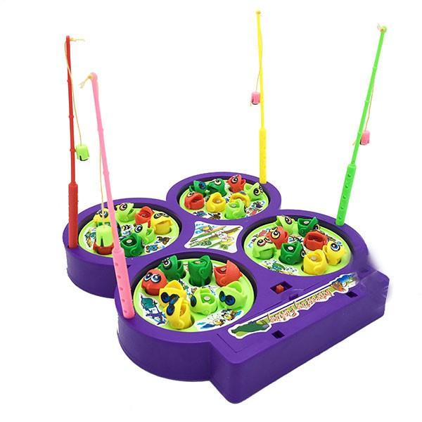 Hộp đồ chơi câu cá nam châm 4 hồ dùng pin có nhạc 9923 - 2802964 , 1048205681 , 322_1048205681 , 80000 , Hop-do-choi-cau-ca-nam-cham-4-ho-dung-pin-co-nhac-9923-322_1048205681 , shopee.vn , Hộp đồ chơi câu cá nam châm 4 hồ dùng pin có nhạc 9923