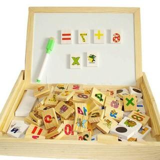 [HOT] Bảng gỗ 2 mặt dạy bé học toán