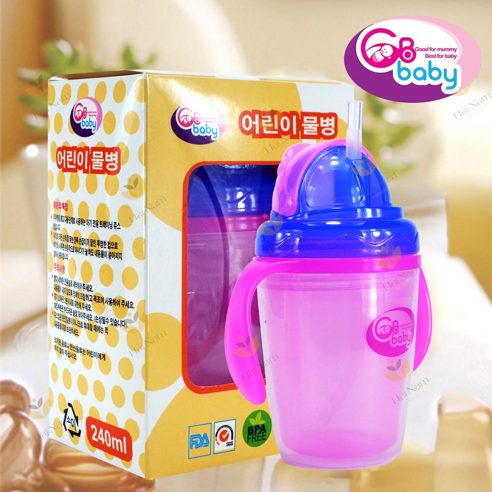 Bình Tập Uống Nước GB Baby Chống Nóng 240ml Cho Bé