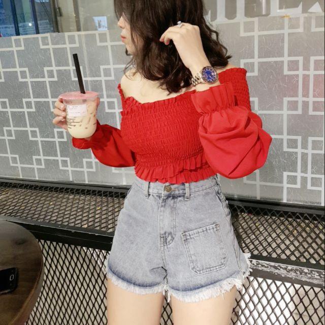 Sort jeans cá tính kiểu độc lạ