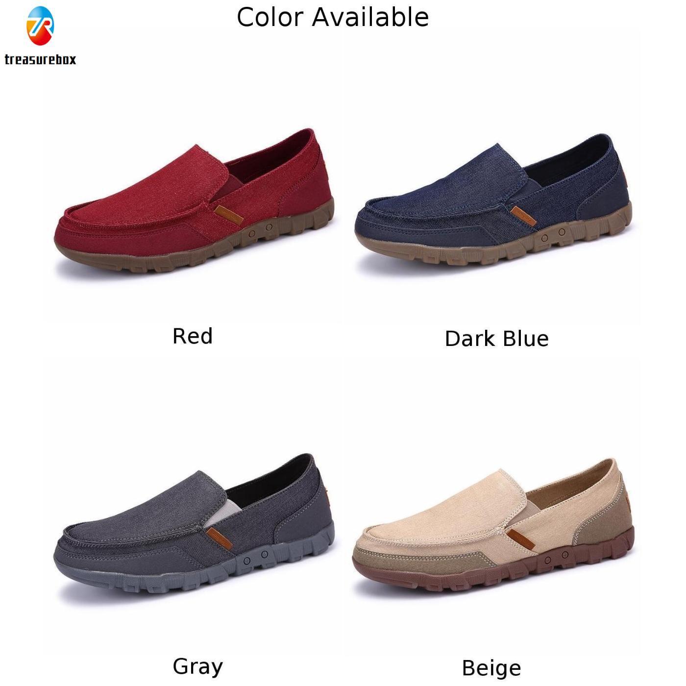 Giày Lười Đế Bằng 4 Màu Tùy Chọn Mẫu Mới Thời Trang Xuân Thu