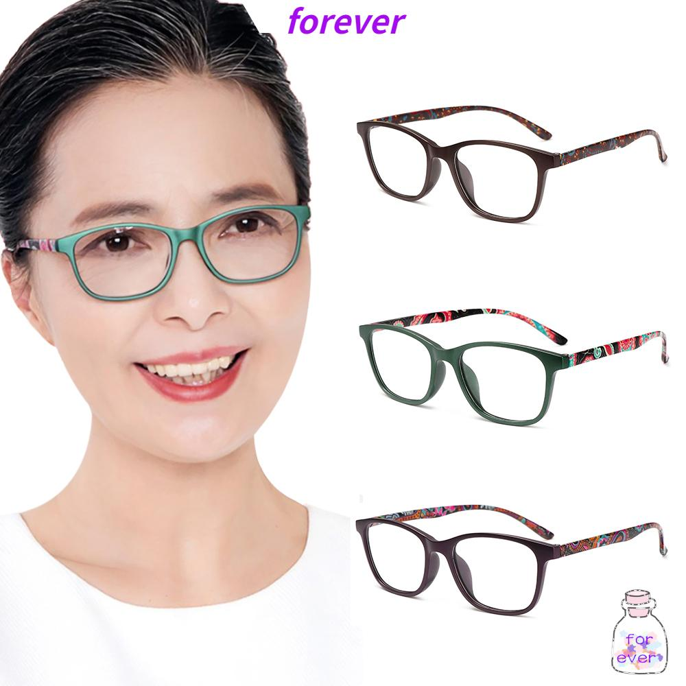 🌱FOREVER🌱 Women Optical Eyewear Vision Care Presbyopia Eyeglasses Anti-blue Light Glasses Fashion Classic Retro Vintage Computer Goggles/Multicolor
