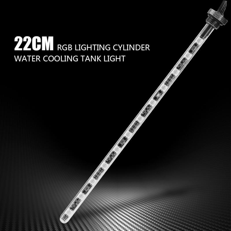Dải đèn led trang trí bể cá 22cm kèm điều khiển từ xa tiện dụng