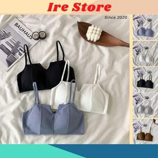 Áo Lót Nữ, Áo Lưng Thun Cotton Co Giãn – Ire Store