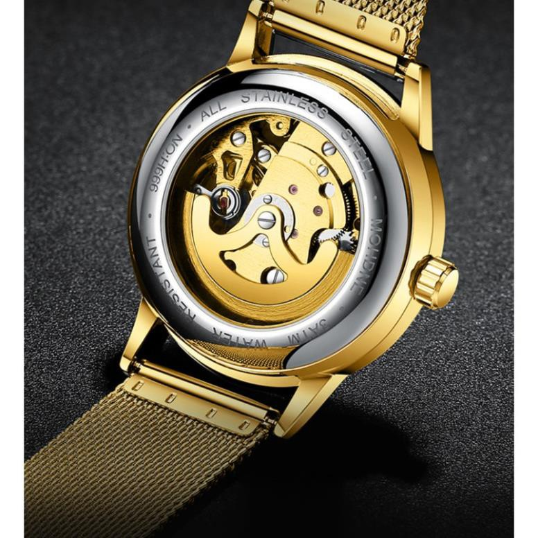 Đồng hồ cơ nam lộ máy FNGEEN chính hãng tuyệt đẹp, thiết kế lịch lãm, mạnh mẽ, phong cách hiện đại ( Mã: FC01)