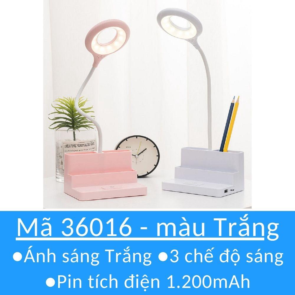 Đèn bàn học sạc tích điện ❤Bảo hành 3 tháng❤M36016 đèn led đọc sách chống  cận cho trẻ em học sinh, Giá tháng 10/2020