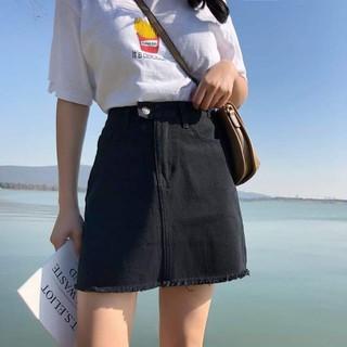 Chân Váy Jeans Mềm Bigsize