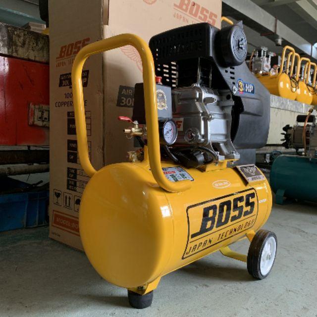 máy nén khí BOSS 30lit có dầu bảo hành 12 tháng